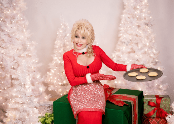 """Dolly Parton released """"A Holly Dolly Christmas"""" this year, her first holiday album since 1990."""