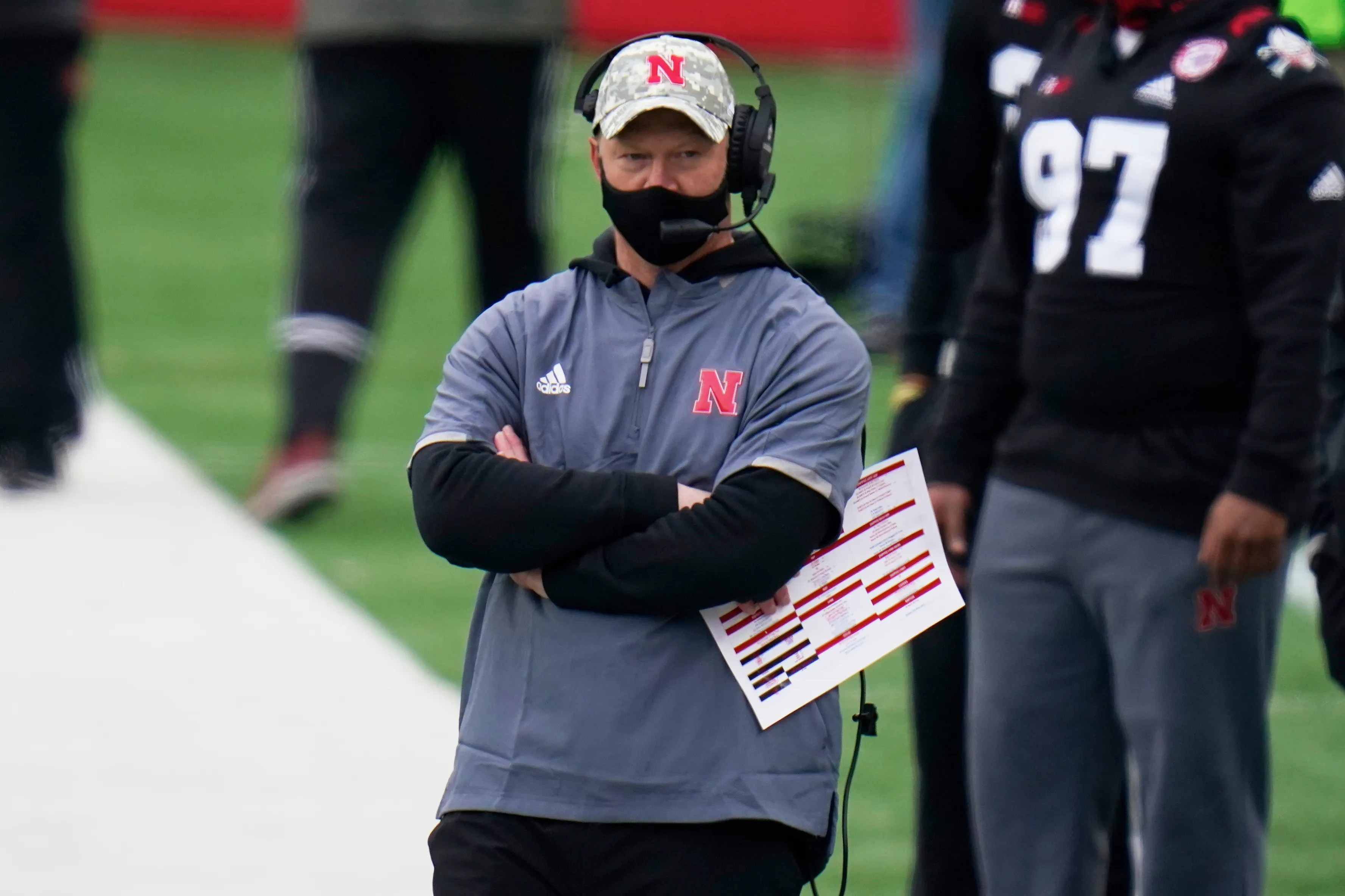 Nebraska coach Scott Frost and the Cornhuskers reached a new low Saturday with a loss to Illinois.