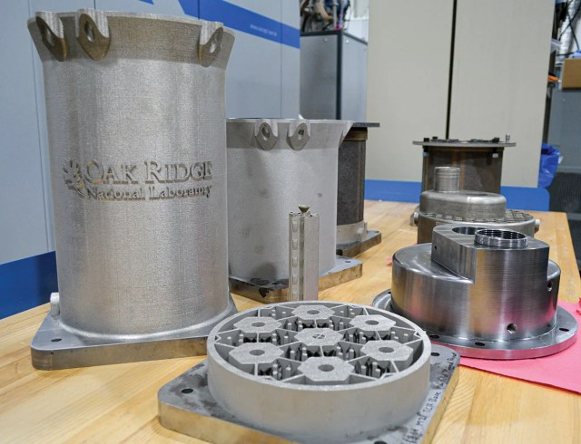 Oak Ridge National Laboratory researchers have demonstrated the ability to 3D print components needed to make a prototype reactor core.