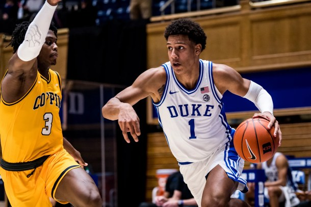 Duke freshman Jalen Johnson has played his final game for the Blue Devils