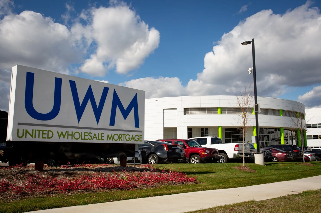 United Wholesale Mortgage has its headquarters in Pontiac. The firm was previously known as United Shore