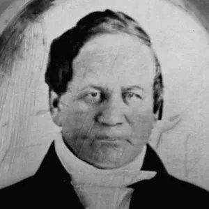 One of the few portraits of Alexander Twilight, the first person of African descent to earn a Bachelor's Degree in the United States, at Middlebury College.