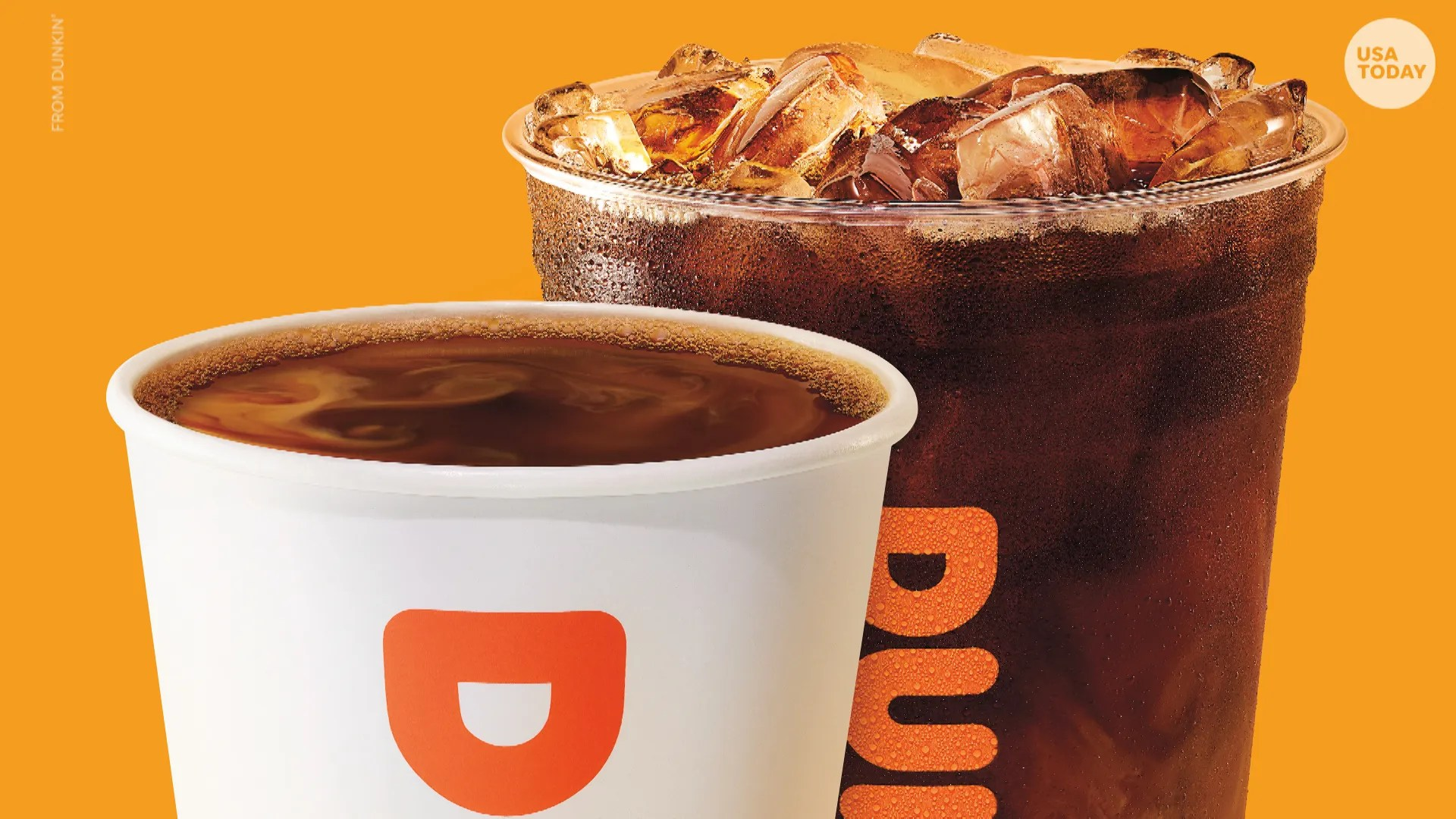 Dunkin' has a hot coffee special Mondays in February.