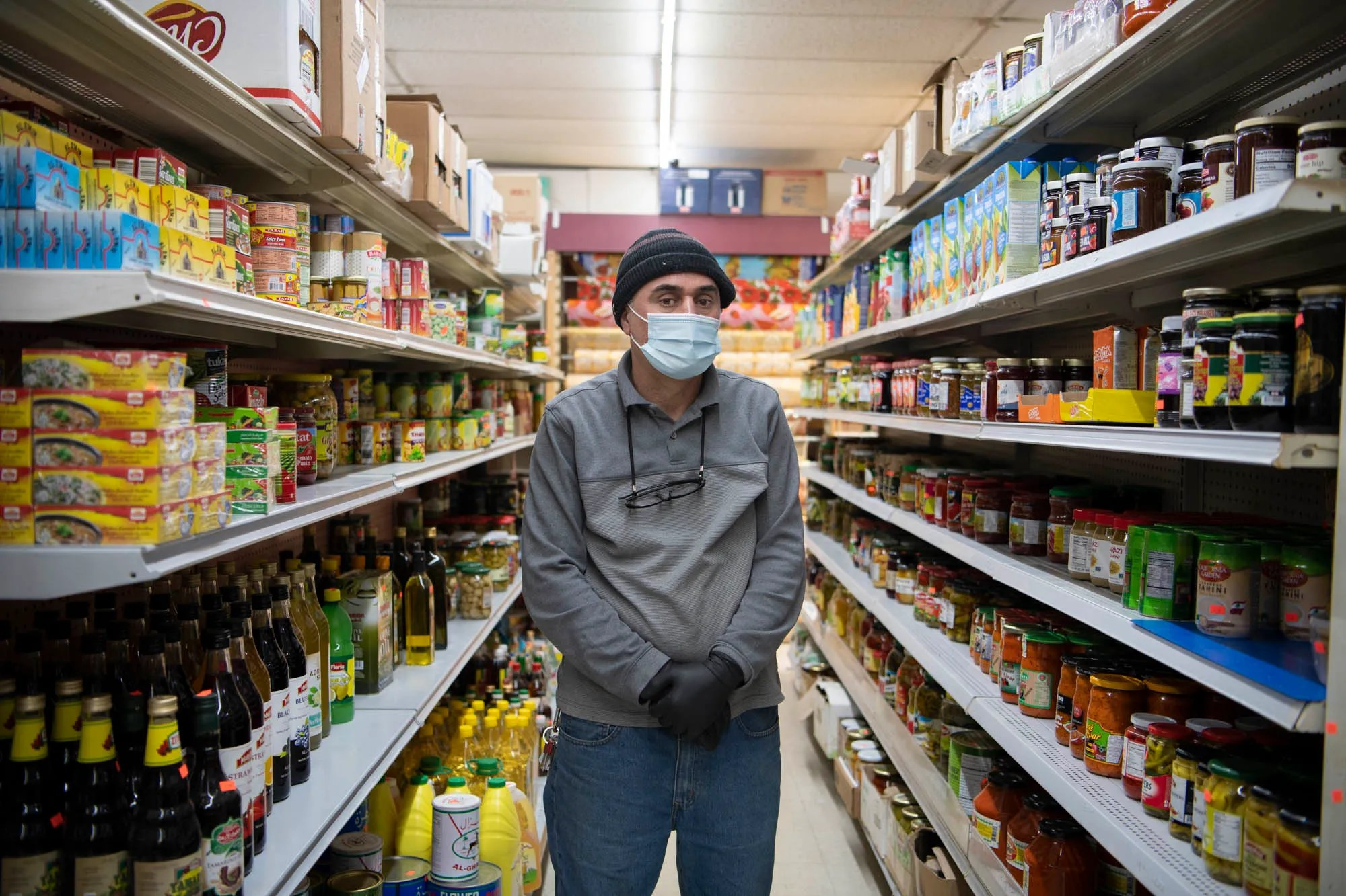 Wisam Asal, 53, is the co-owner of Jasmine International Store, a grocery store in Bowling Green, Ky. Asal came to Kentucky from Iraq as a refugee with his family back in 2010.