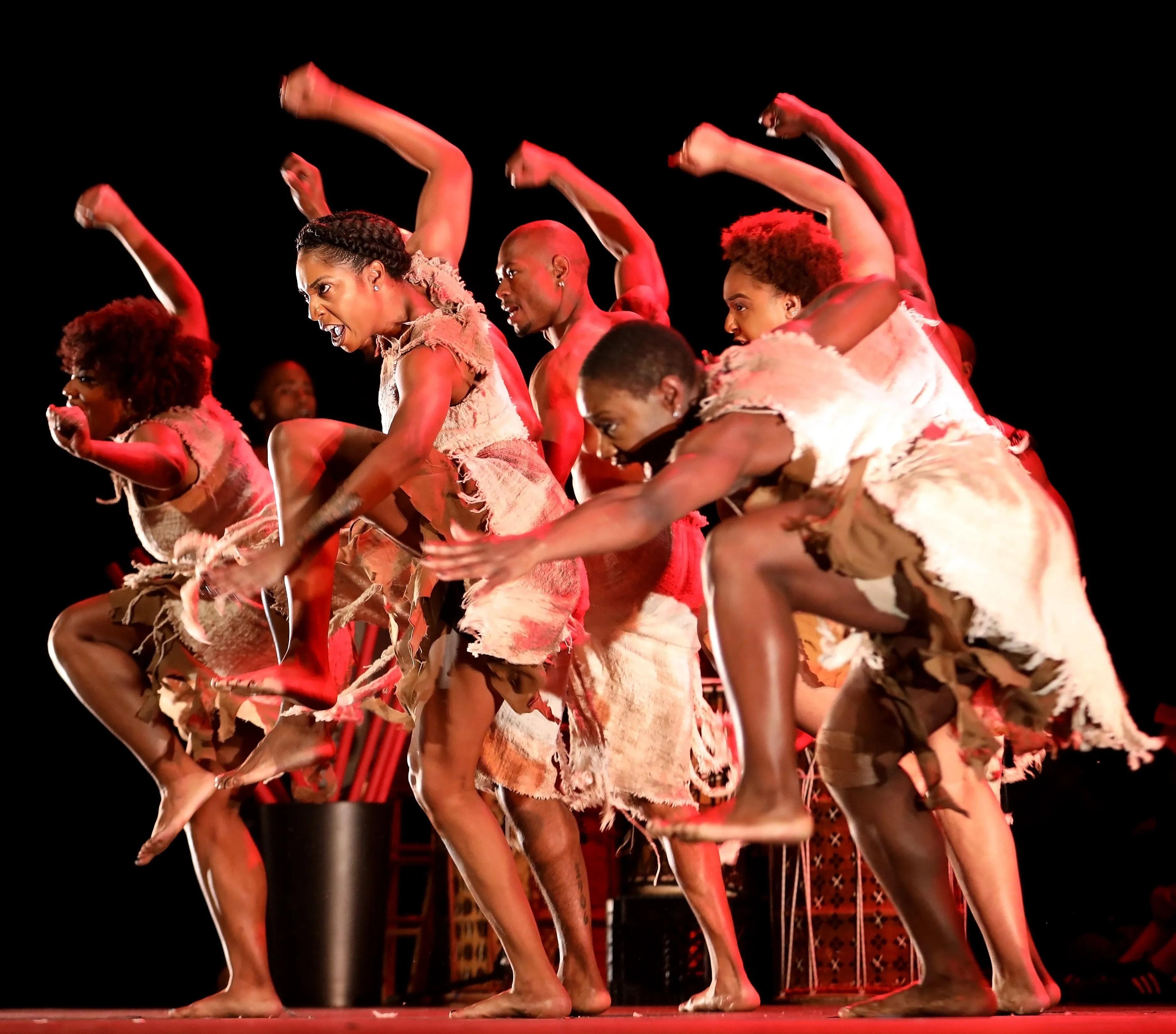 """Step Afrika! performs """"STONO."""""""