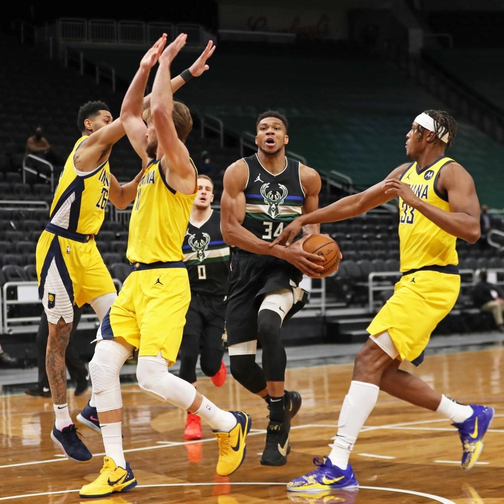 Αποτέλεσμα εικόνας για Milwaukee Bucks - Indiana Pacers 130-110