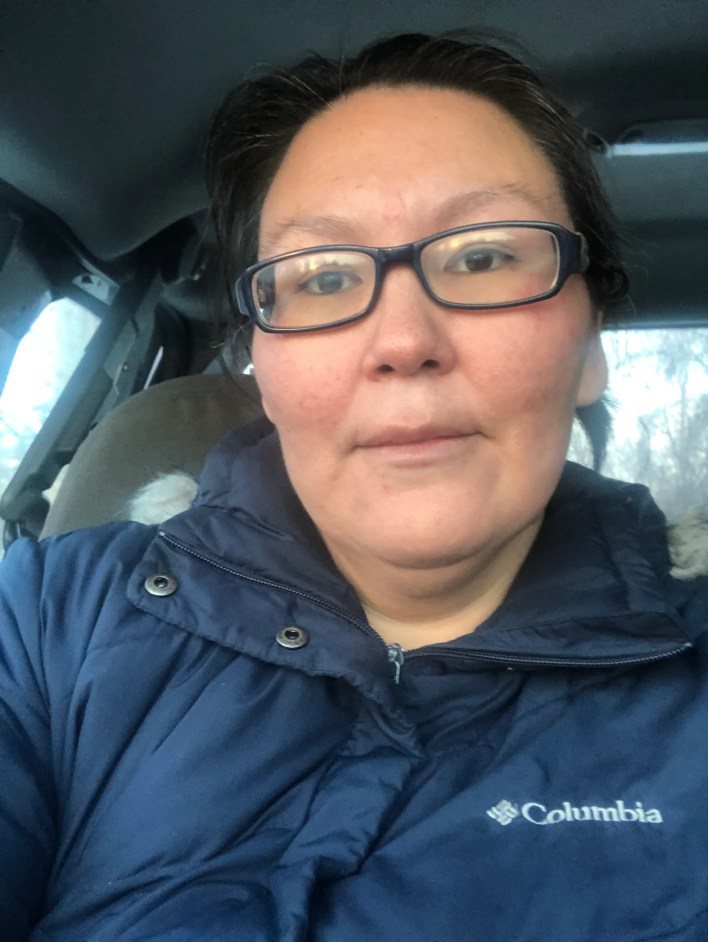 Elsie Allain lives in the 457-person village of Tuluksak in western Alaska, where a Jan. 16 fire burned down the community's only source of drinking water.