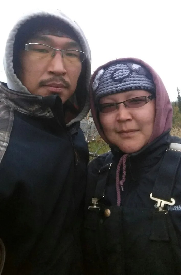 Nelson and Kristy Napoka live in the 457-person village of Tuluksak in western Alaska, where a Jan. 16 fire burned down the community's only source of drinking water.