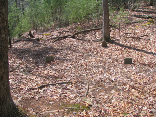 This cemetery, known as CT04 or the African American Cemetery in the Cataloochee area of Great Smoky Mountains National Park is believed to have three or four African American burials.