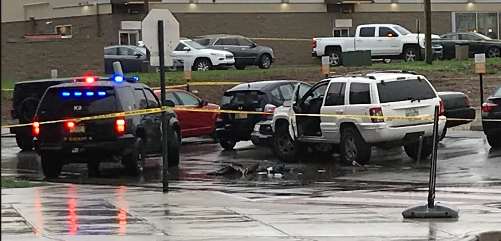 Indianapolis police are investigating a shooting involving a Marion County Sheriff's Office deputy Saturday, April 10, 2021.