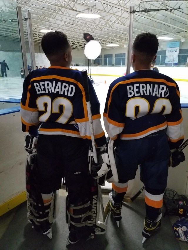 The Bernard brothers have been teammates on the ice for nearly nine years.