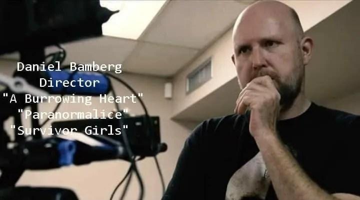 """Survivor Girls"" writer/director Daniel Bamberg"