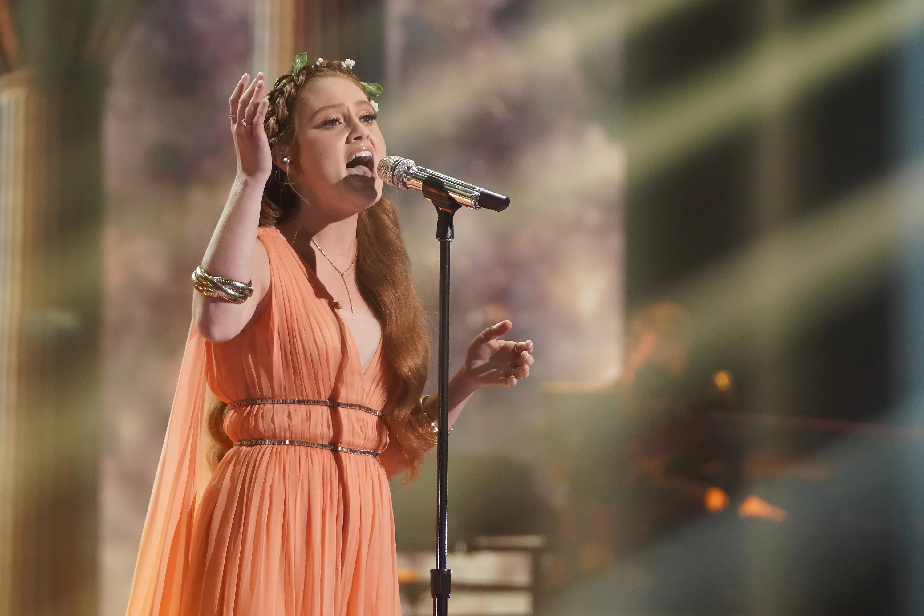 """Cassandra Coleman has been open on the show about her struggles with nerves. But the coffee shop manager channeled her inner hero, belting out """"ICan Go The Distance"""" from """"Hercules."""""""