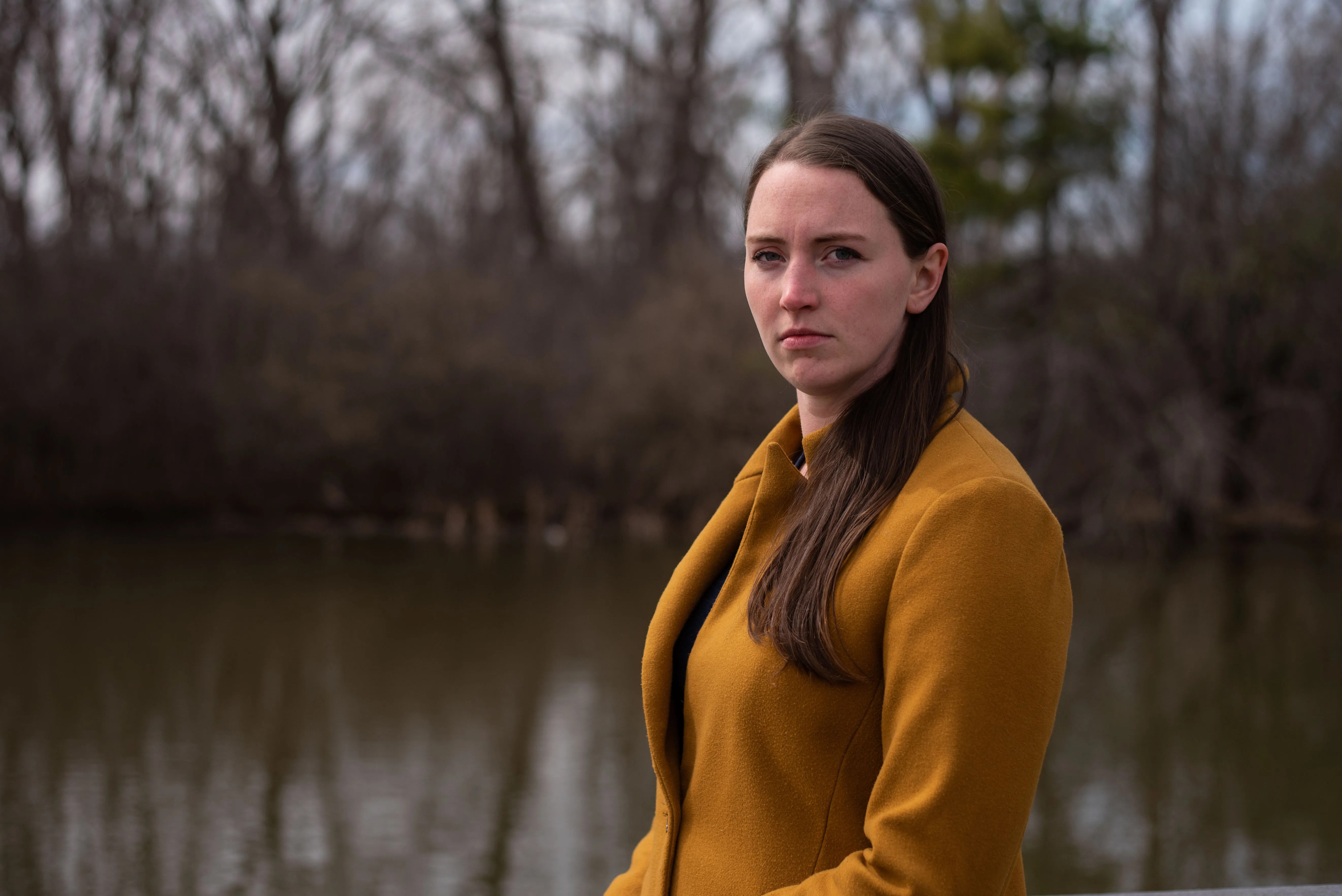 Rachel Horvath, 26, of Buffalo, photographed in Buffalo on Saturday, April 3, 2021, was a camp counselor at Circle C Ranch in 2011. Horvath alleges Wayne Aarum's physical and verbal behavior toward her then was inappropriate and abusive.