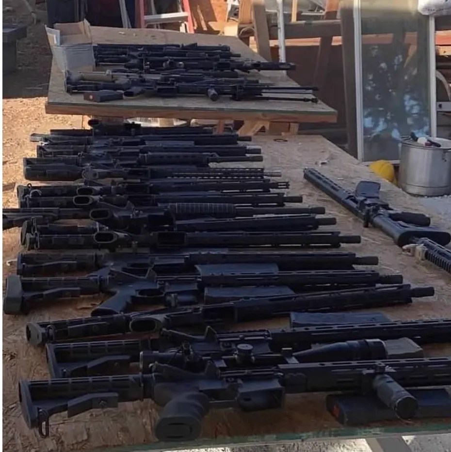 DEA agents seized more than 110 guns in a case linked to the infamous Sinaloa Cartel.