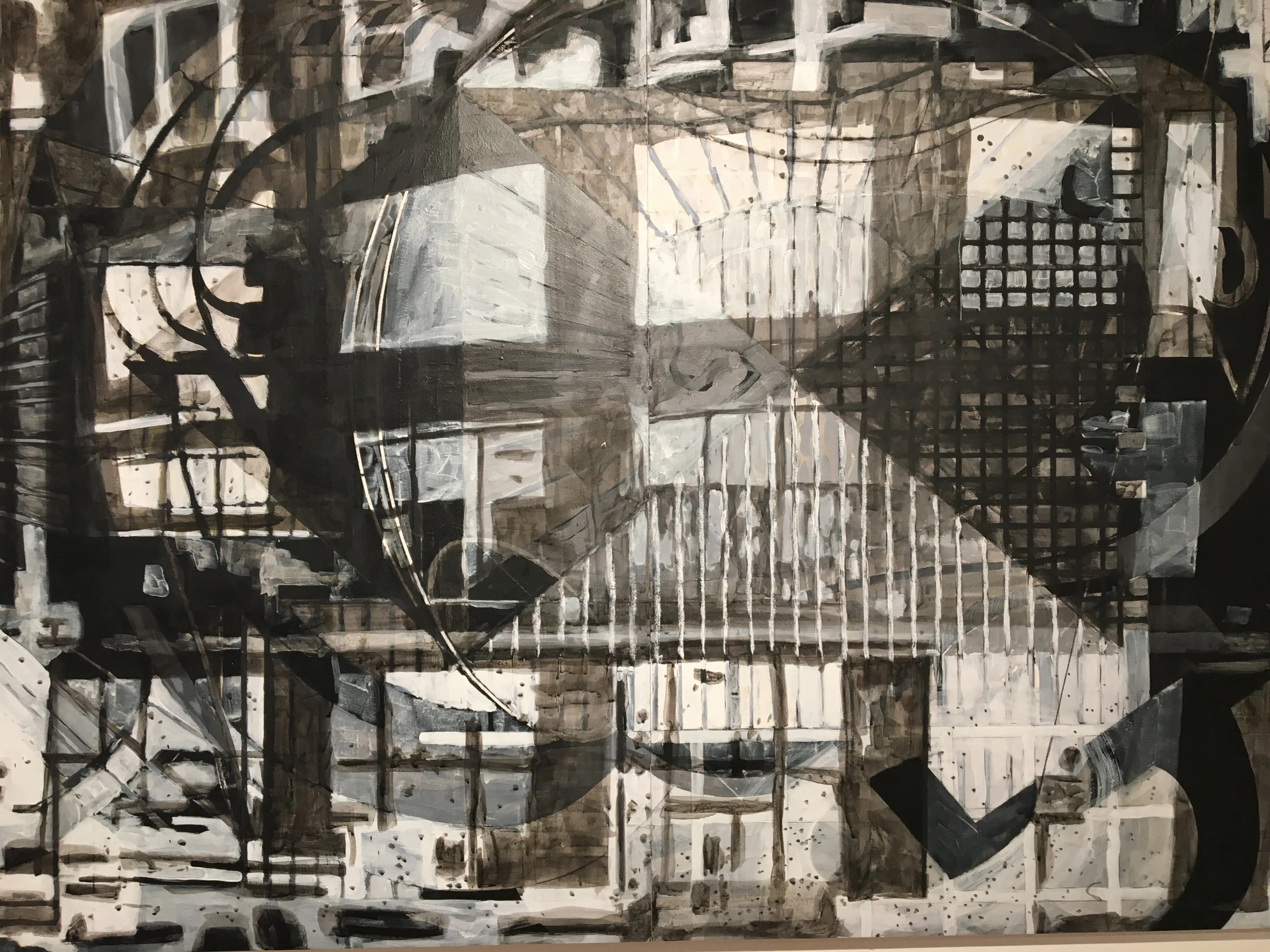 Metropolis Mixed Media Drawing By Marc St Pierre