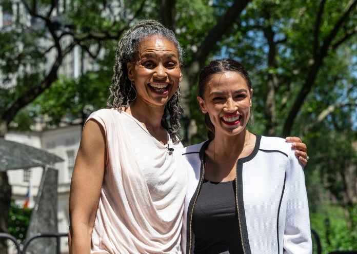 "New York City mayoral candidate Maya Wiley is Rep. Alexandria Ocasio-Cortez's ""No. 1"" choice."