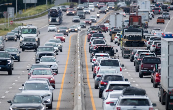 Transportation contributes to nearly half of the air pollution in Texas. Other sources of pollution include wildfires, coal-fired power plants, chemical refineries and construction.