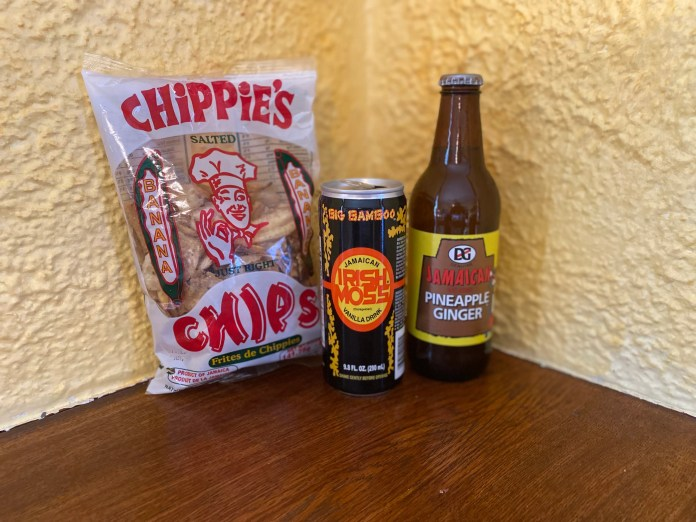 Jamaica always has a lot to cheer about at the Olympics. Aside from its athletes, there are Irish Moss, banana chips and a pineapple ginger soda.