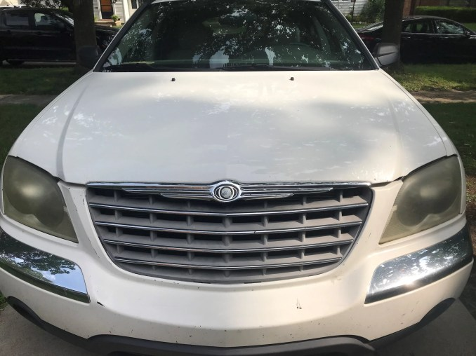 What's your clunker worth? Even cars with more than 100,000 miles could command record high prices in June, according to car experts. Photo: 2004 Chrysler Pacifica.