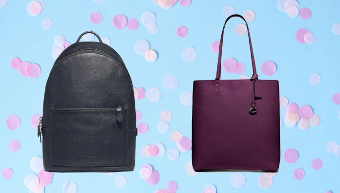 You can shop Coach purses for 50% off right now.