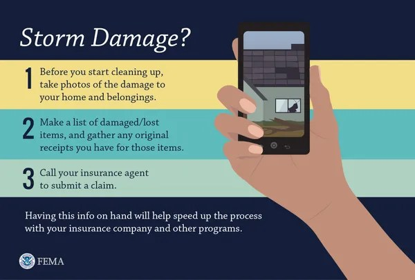 The Federal Emergency Management Agency offers advice on how to deal with damage to your home, business or personal property from a natural disaster.