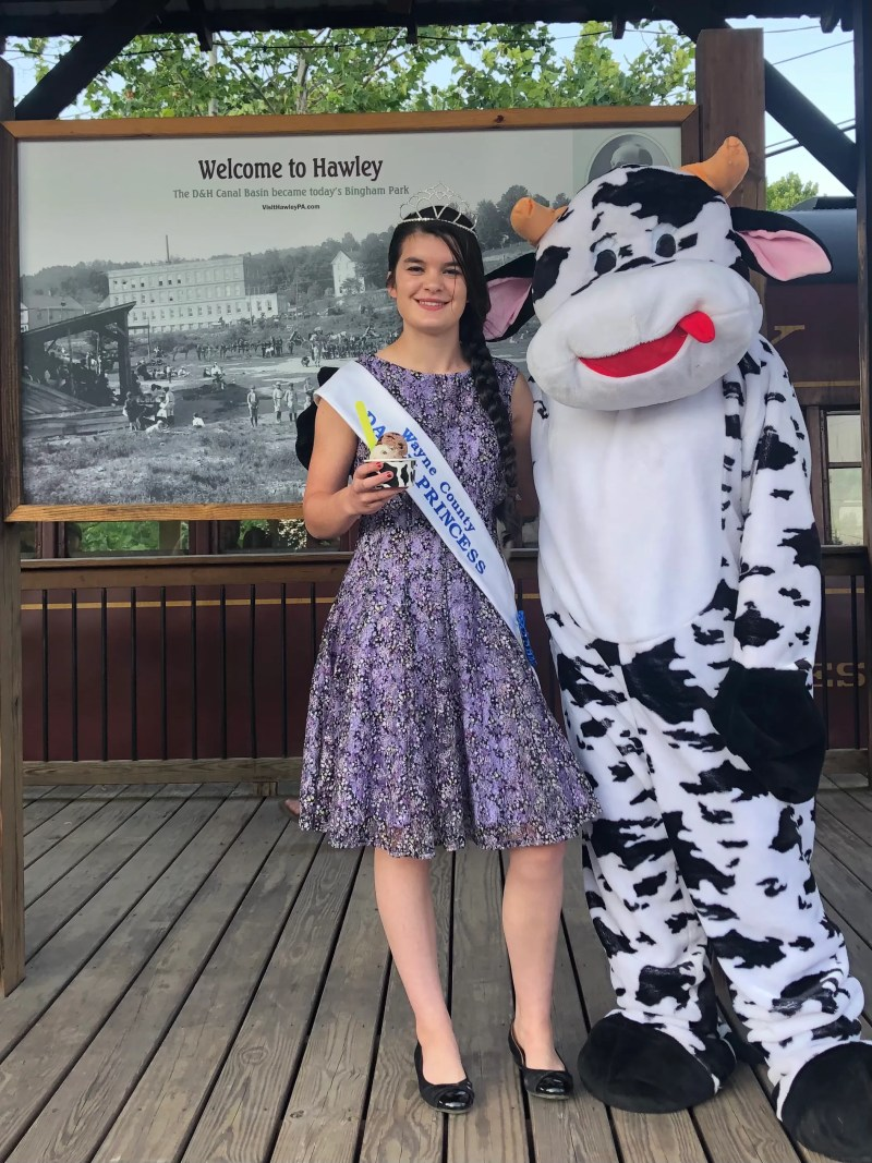 Wayne County Dairy Princess Madison Roberts will compete in the Pennsylvania Dairy Princess pageant Sept. 23 - 25 in Altoona.