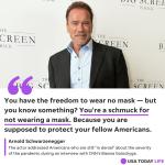 Arnold Schwarzenegger loses sponsor after anti-maskers rant 💥💥