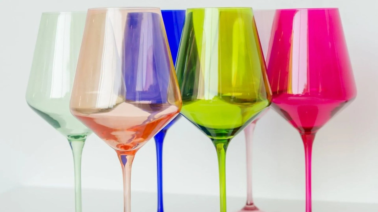 Colorful glassware will brighten any table, making the occasion feel extra celebratory.