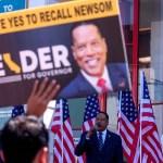 Gov. Gavin Newsom wins election over Larry Elder 💥💥
