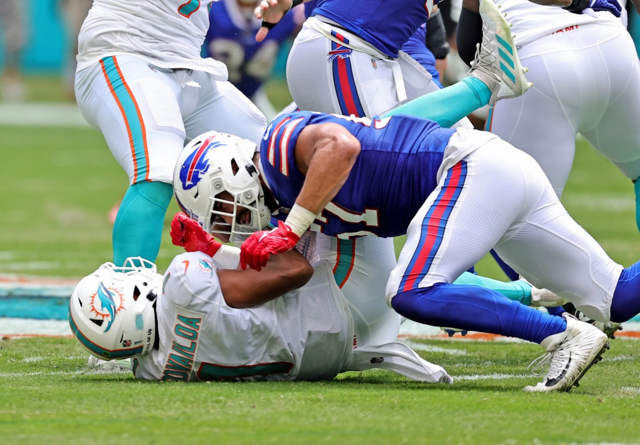Bills edge rusher A.J. Epenesa played his best game as a pro last week.