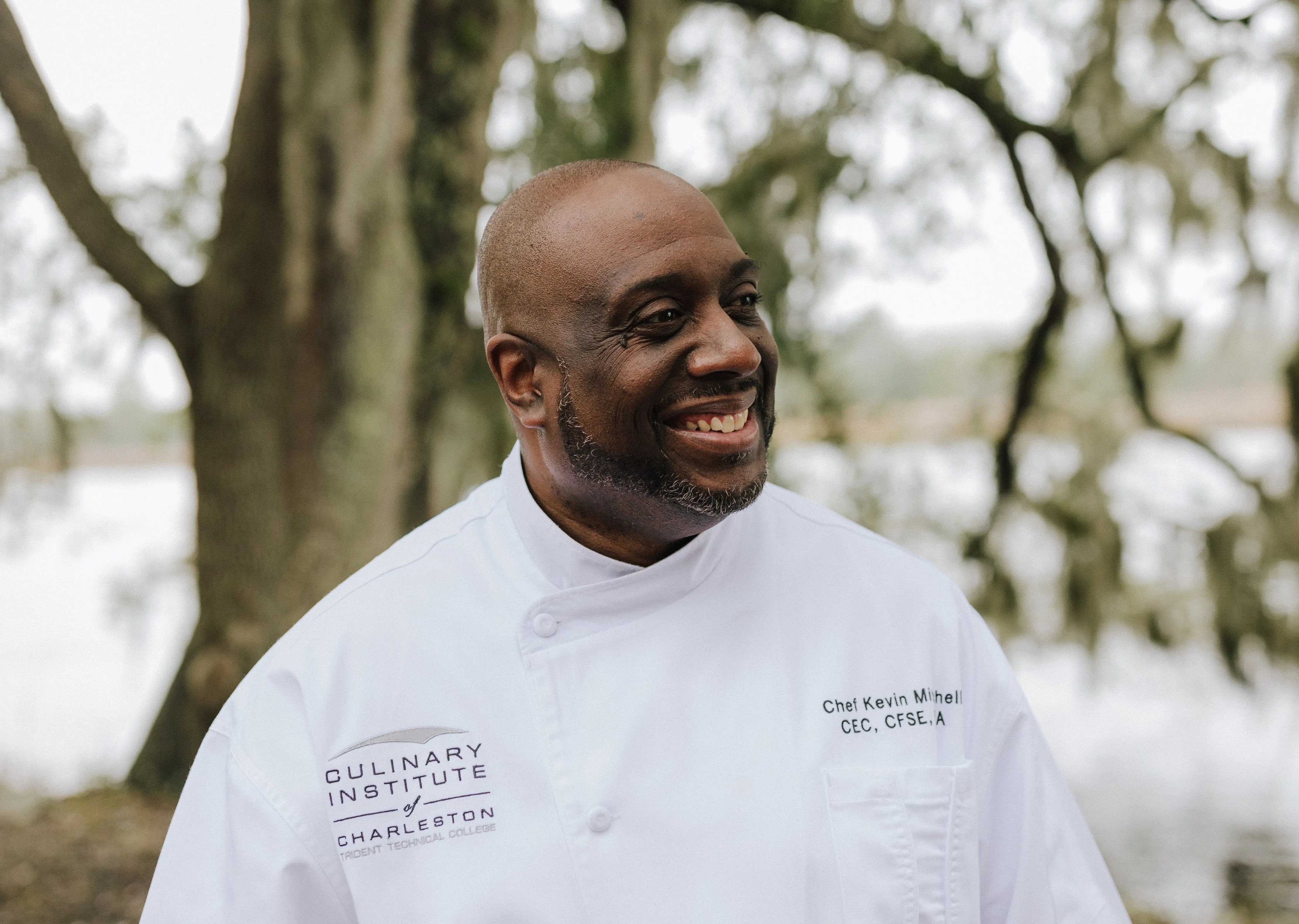 """Chef and culinary instructor Kevin Mitchell collaborated with historian David S. Shields to write """"Taste the State,"""" a guide to the food of South Carolina. (Courtesy of University of South Carolina Press)"""