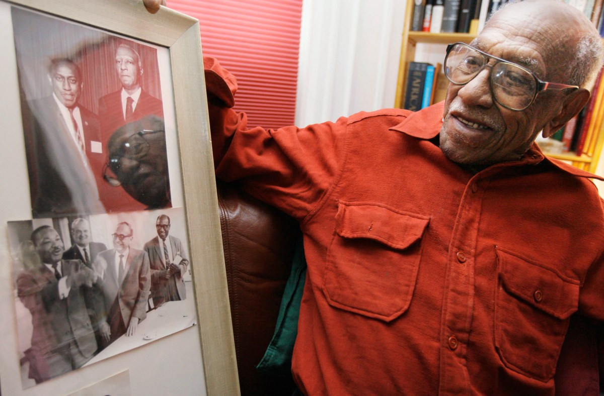 , Historian and civil rights activist Timuel Black Jr. dies at 102, The Evepost National News