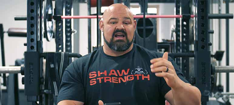 Screenshot: Brian Shaw und Eddie Hall im Bodybuilding