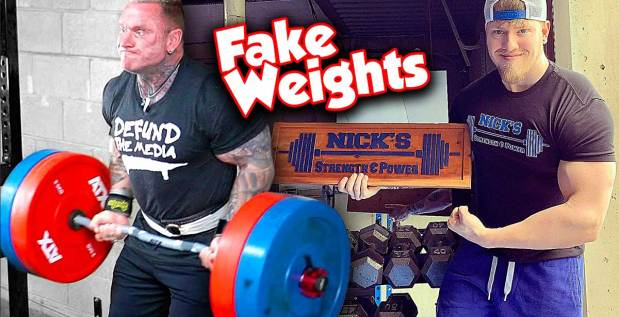 Titelbild: Lee Priest trollt Nick Miller