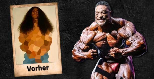 Titelbild: Roelly Winklaar zeigt seine Transformation