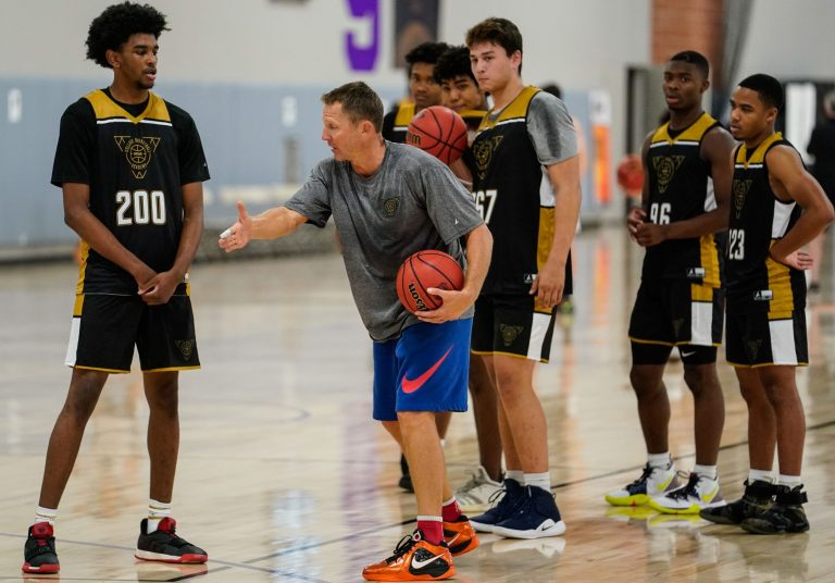 NCAA College Basketball Academy at Grand Canyon University in Phoenix with Ganon Baker