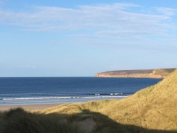 Dunes beach and Dunnet Head (archive photograph - your summer may vary)