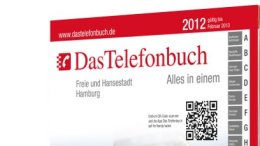 Das Telefonbuch Hamburg 2012