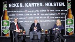 Holsten neues Design Isabella Müller-Reinhardt, Uwe Seeler, Frank Maßen