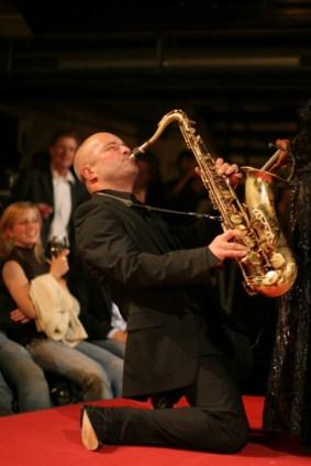 Die Soulisten - King Köppem am Saxofon