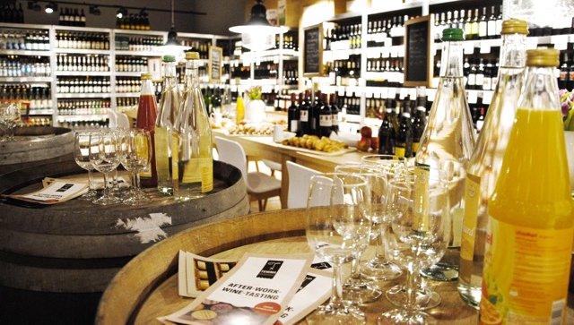 Weinabteilung TEMMA Hamburg
