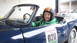 Classic Motor Days - Dagmar Berghoff im Triumph Spitfire