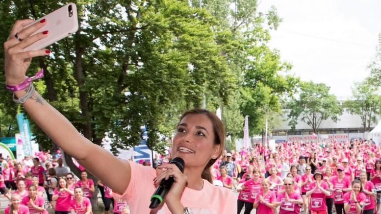 Jana Ina Zarrella beim BARMER Women's Run