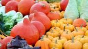 Erntedank mit vielen Herbstgemüsen