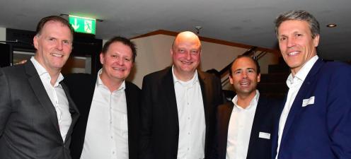 Gäste bei der Speakers Night im Radisson Blu Hotel Hamburg