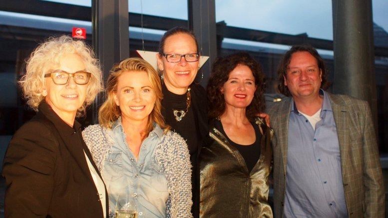 Gruppenbild, Vernissage - Achtung die Holländer kommen