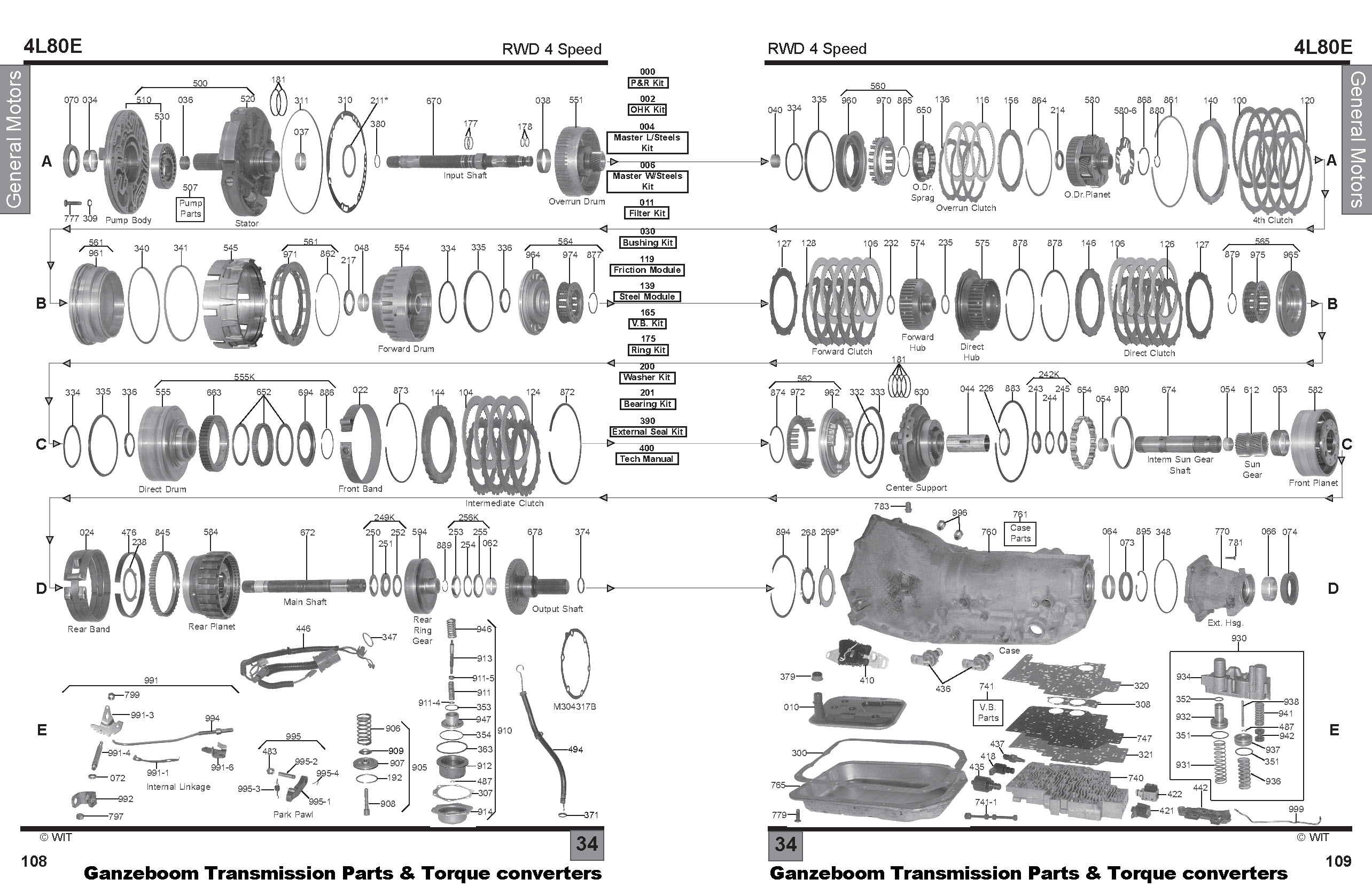 4l80e Transmission Exploded Diagram