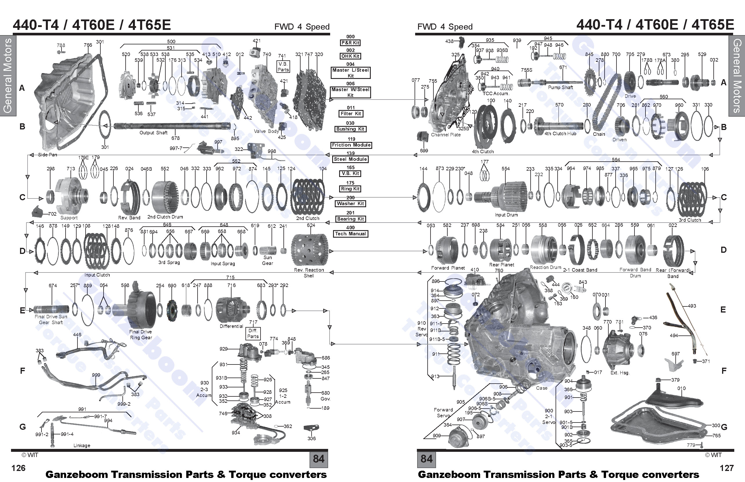 4t65e Exploded Diagram