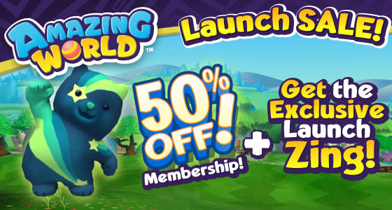 official launch of amazing world